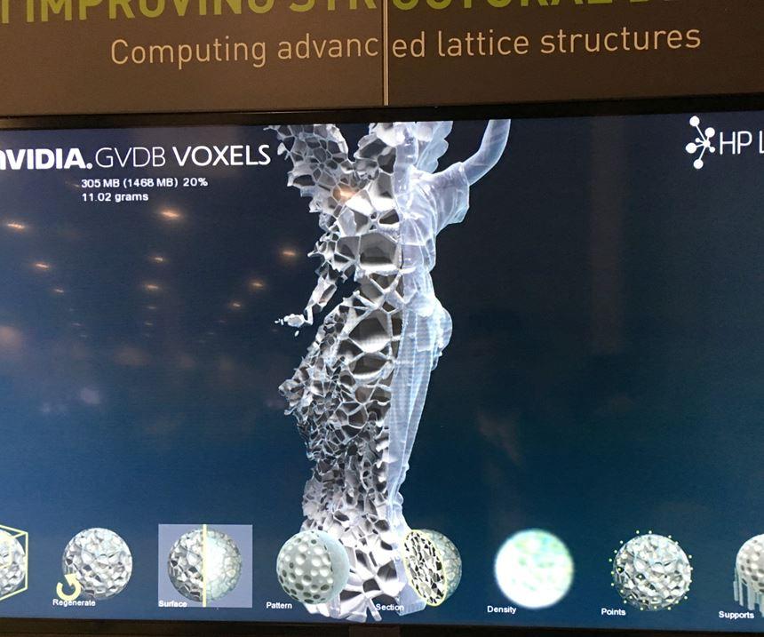 Voxel simulation
