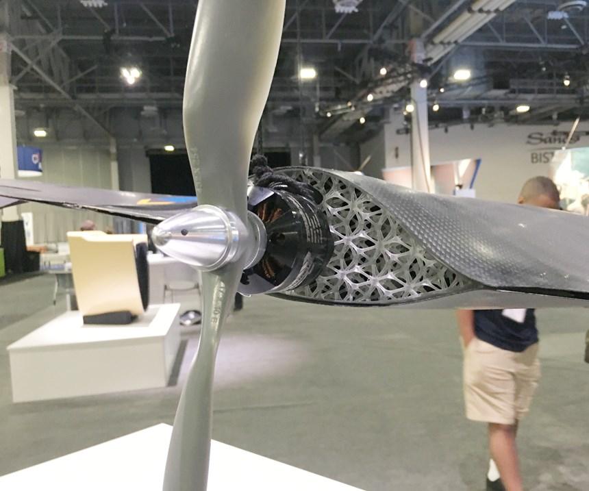 3D-printed rescue drone