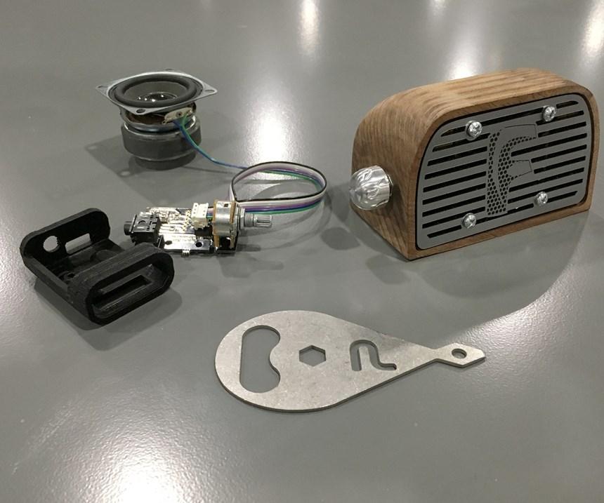 Autodesk University speaker components