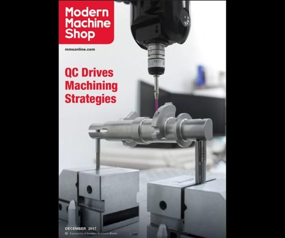 December 2017 issue of Modern Machine Shop