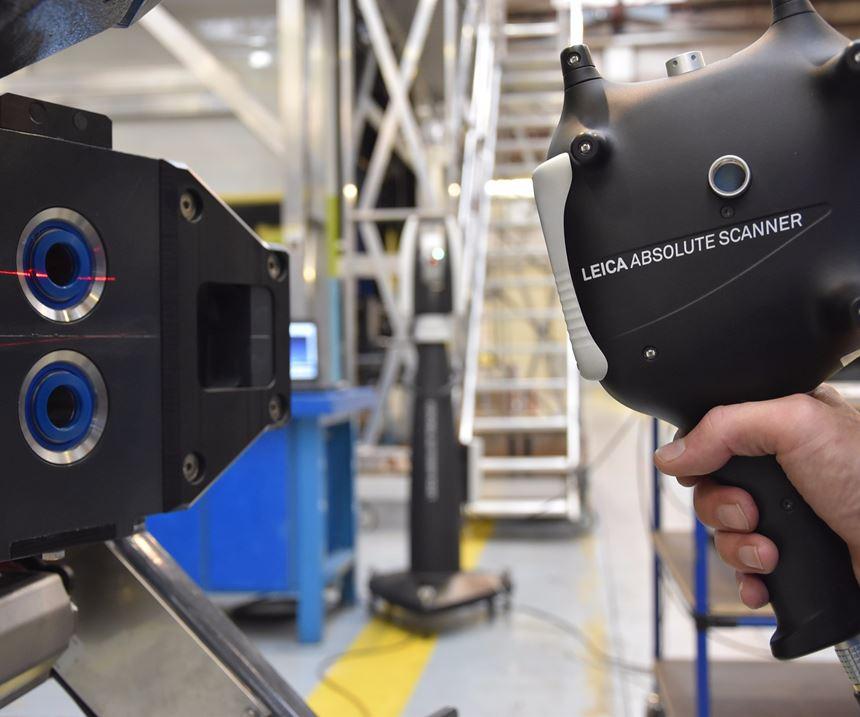 Leica Absolute Tracker AT960-SR laser tracker