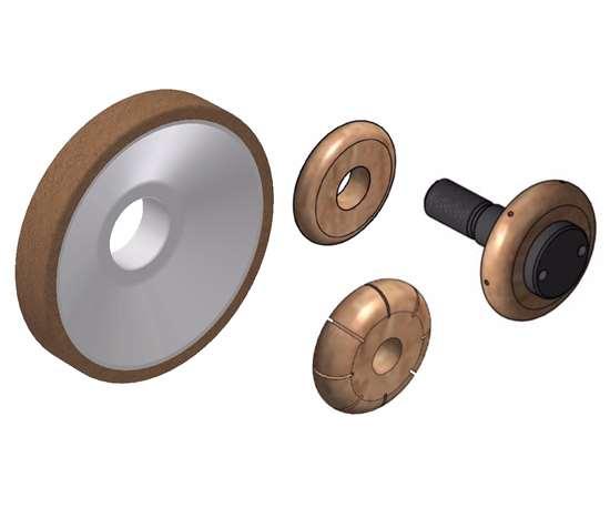 Meister Abrasives' HPL grinding wheels
