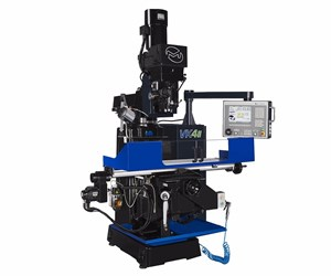 Milltronics VK4II CNC knee mill