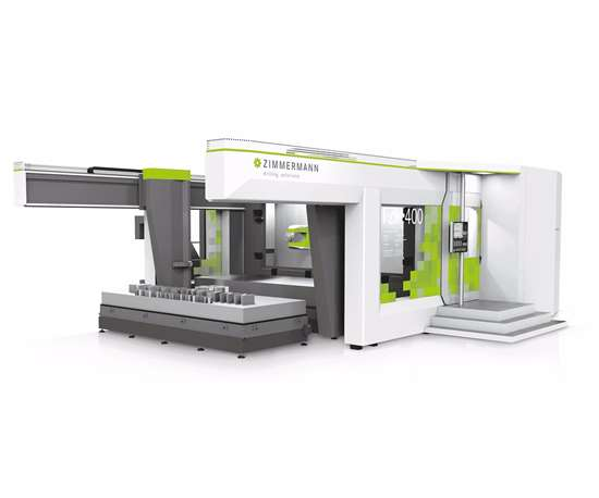Zimmerman FZH400 five-axis machining center