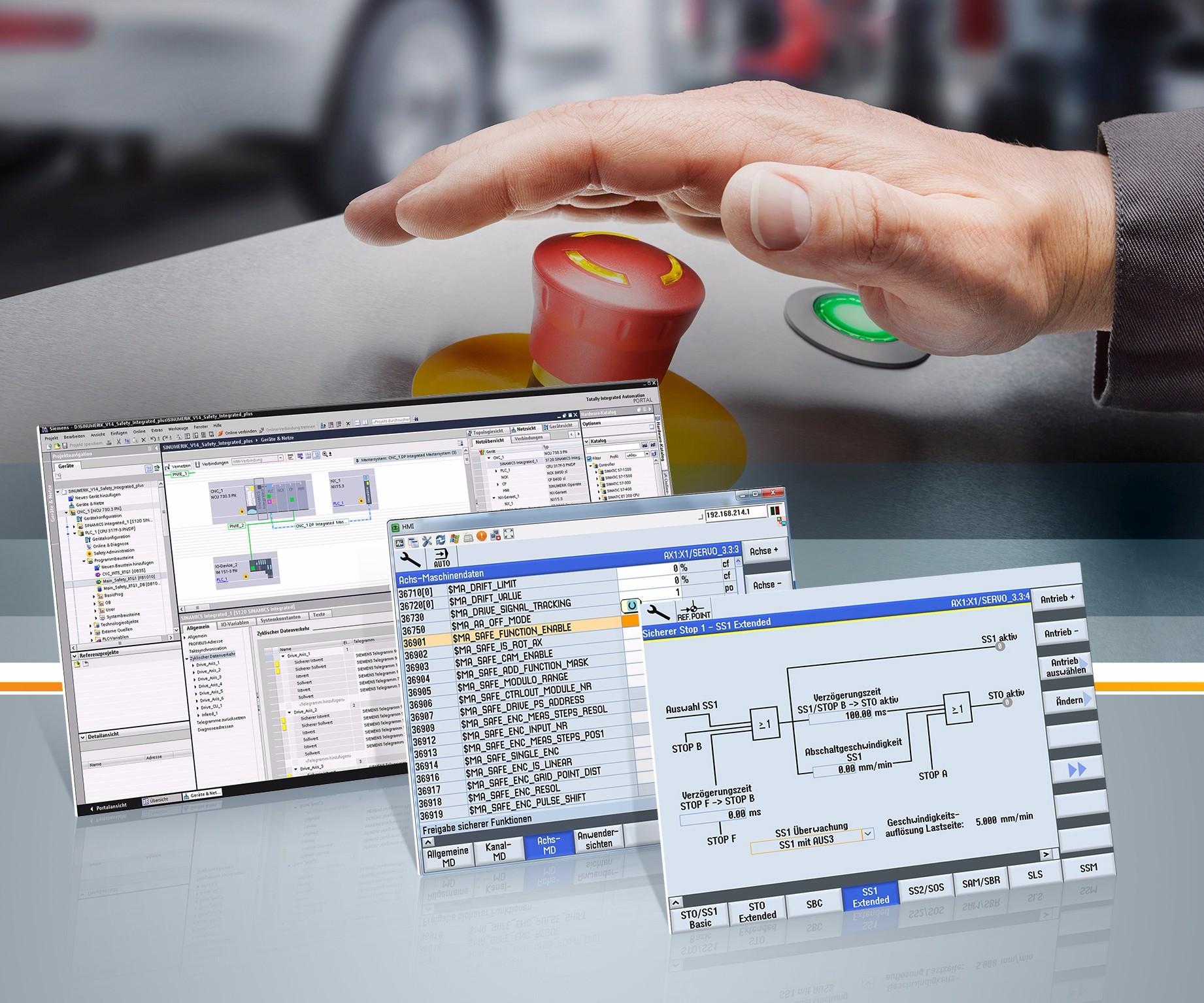 Siemens' Sinumerik 4.8 CNC software
