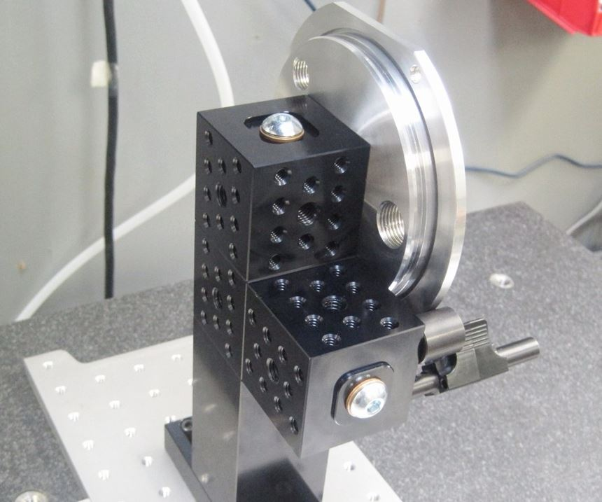 tower workholding on a cmm