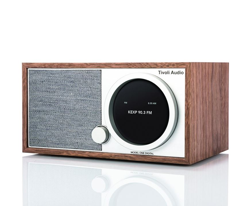prize of TDM Systems' Twitter contest, a Tivoli radio