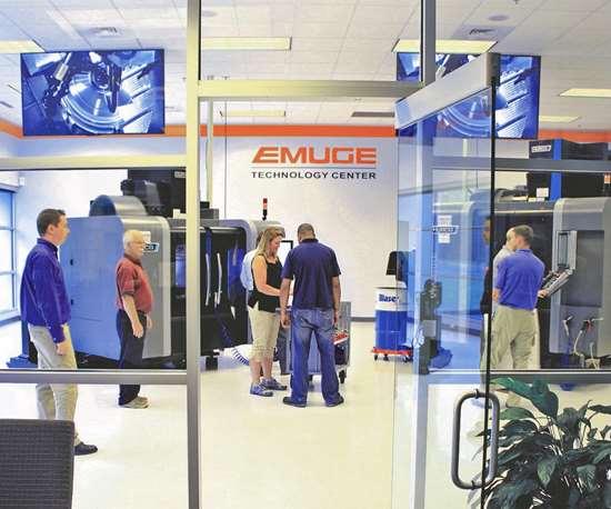 Emuge's Technology Center
