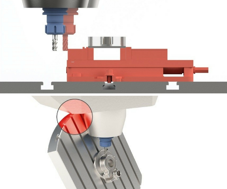 machine tool collision visualizations
