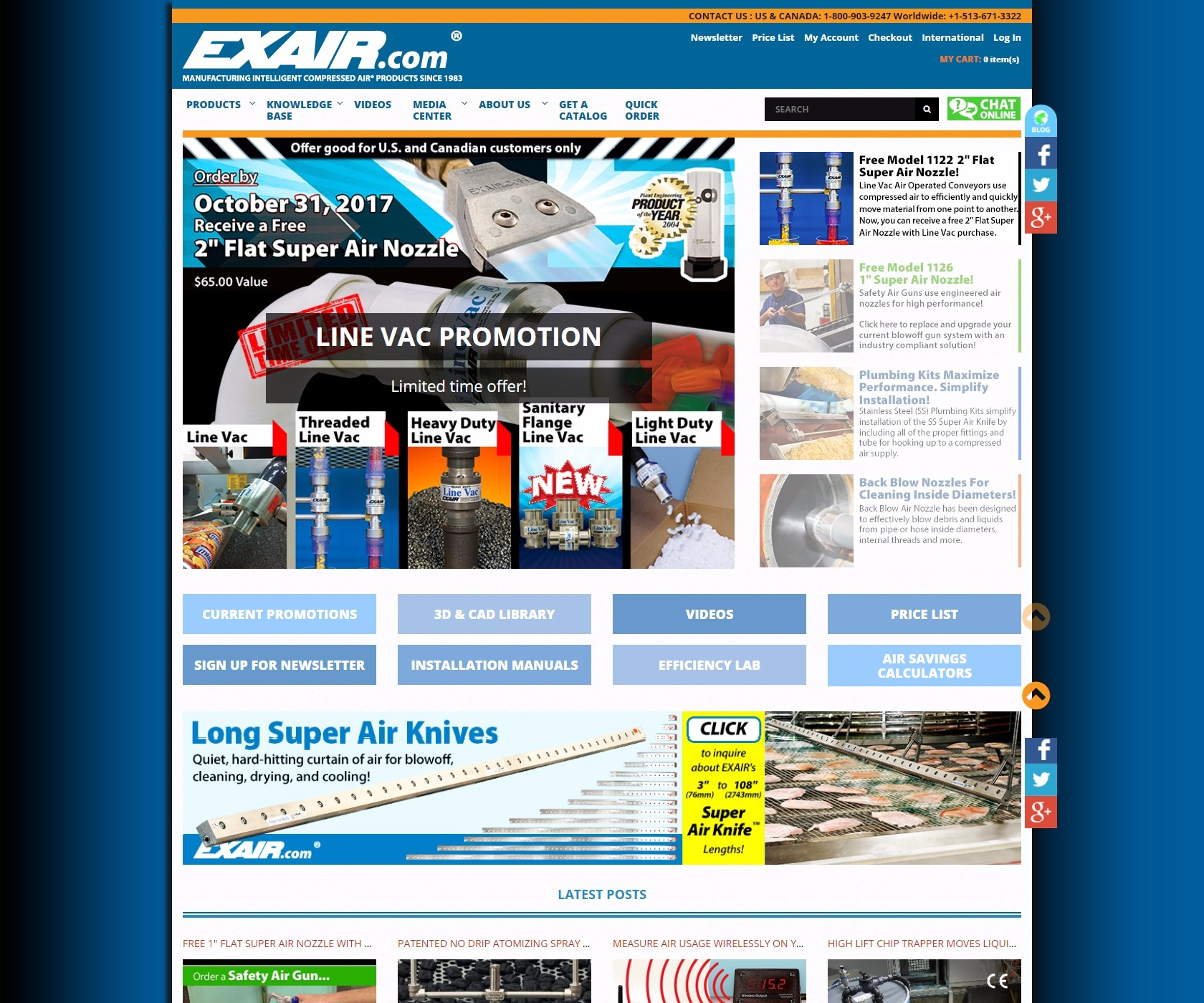 exair.com screenshot