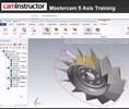 screenshot of online Mastercam course