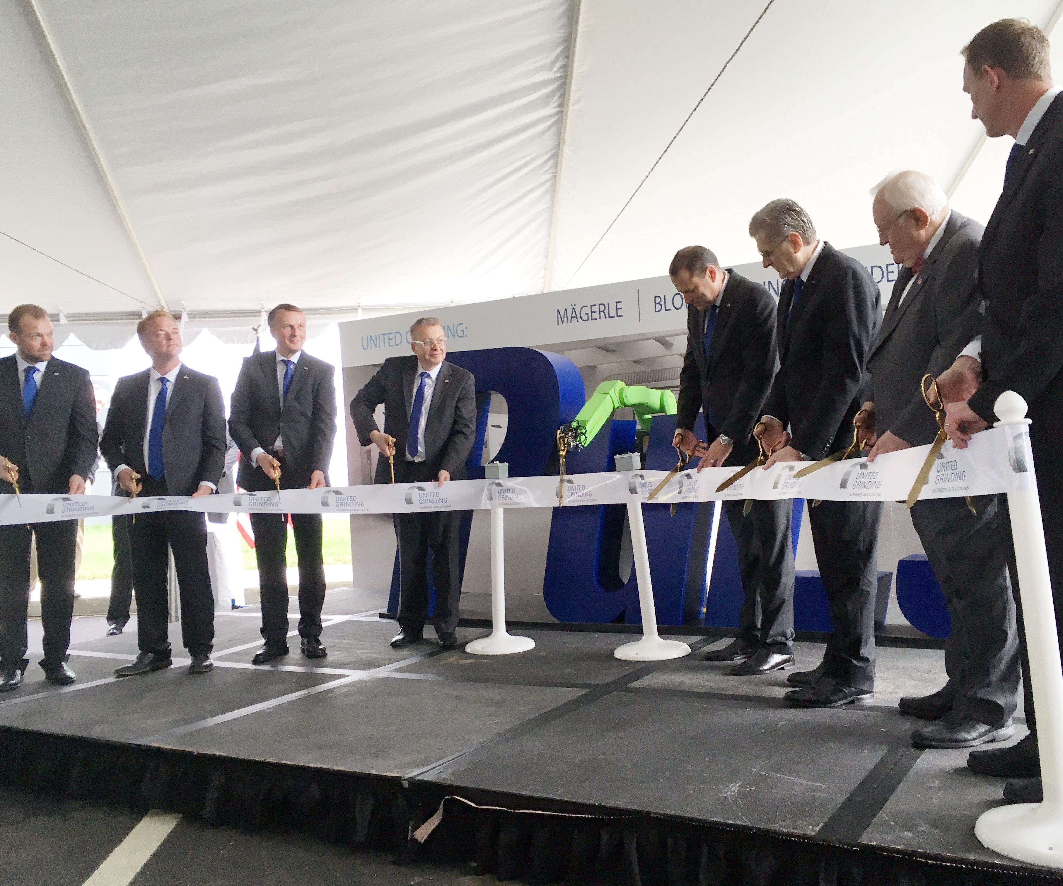 United Grinding Ribbon-Cutting