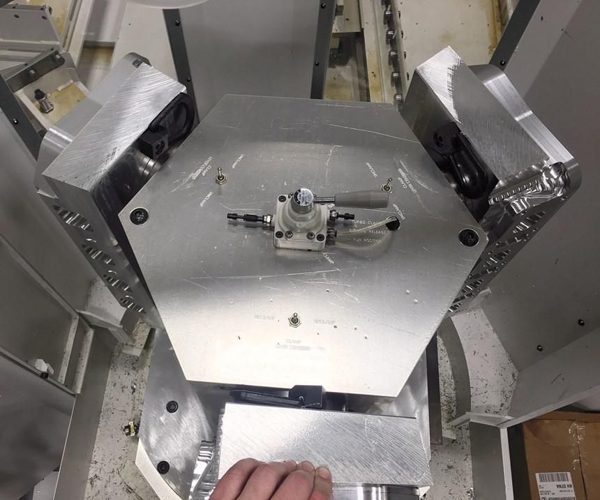 pneumatic zero-point workholding system