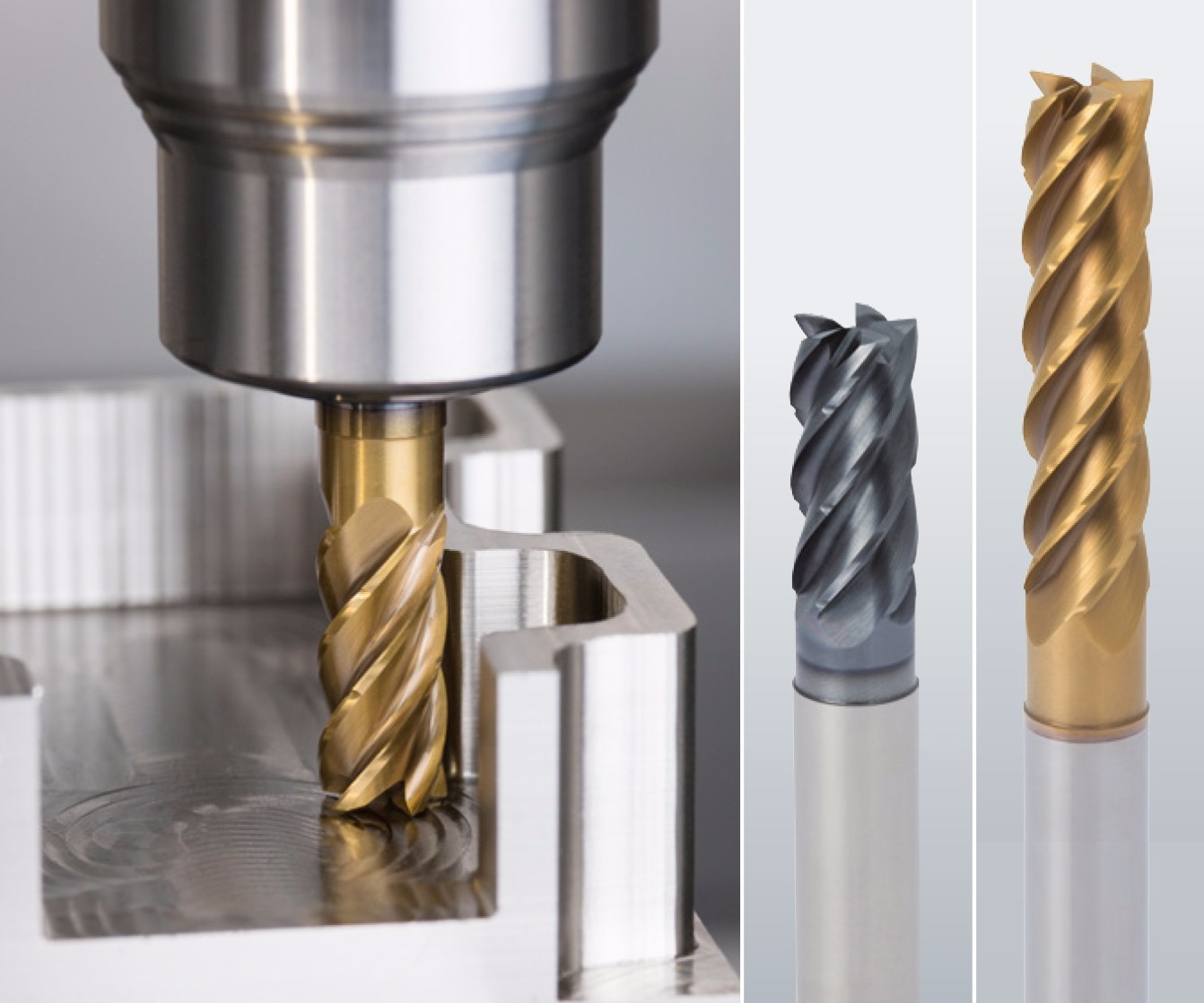 Emuge trochoidal milling tools
