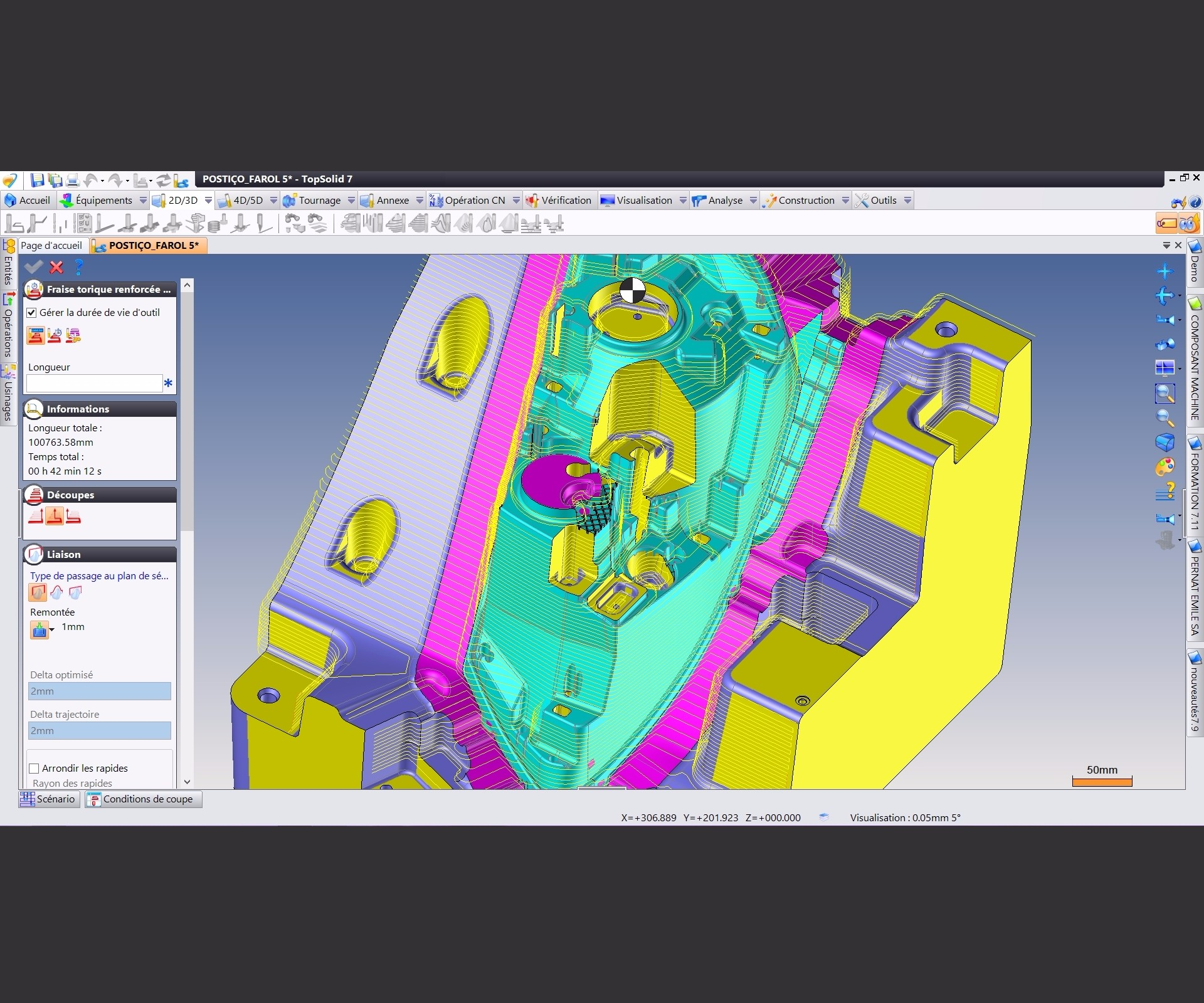 Missler Software's TopSolid'Cam CAD/CAM/ERP software