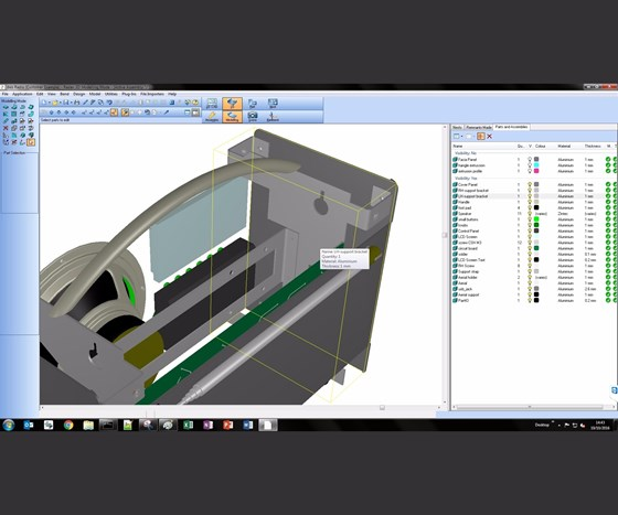 Sheet Metal CAD/CAM Software Manages Engineering Of 2D And