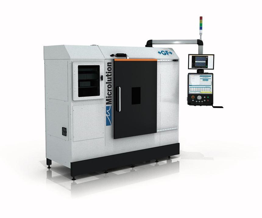 GF Machining Solutions' Microlution ML-5 femtosecond