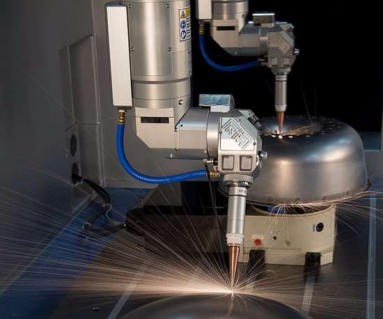 Prima Power Laserdyne's Laserdyne 606D laser processing machine