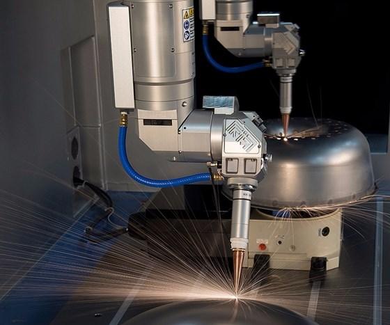 Prima Power Laserdyne's Laserdyne 606D laser processing machine