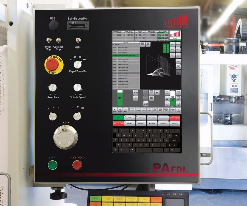 Power Automation America's PA FDL Fadal turnkey retrofit operator panel
