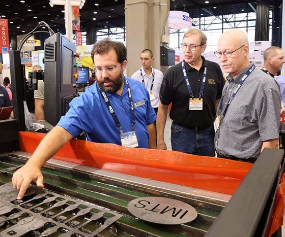 Manufacturers check out new processes at the International Manufacturing Technology Show (IMTS).