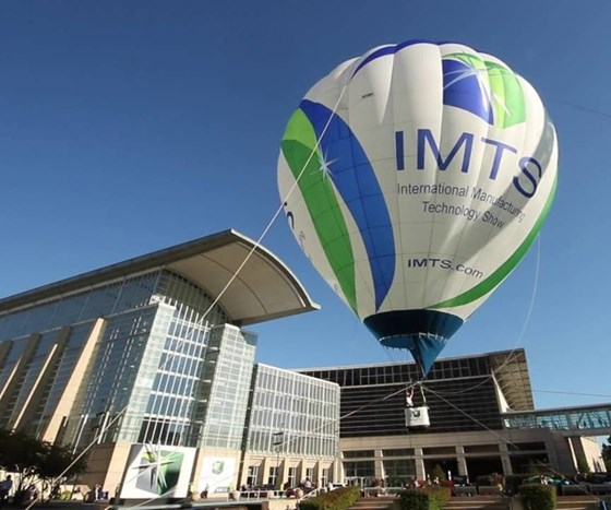 IMTS 2016 hot air balloon.