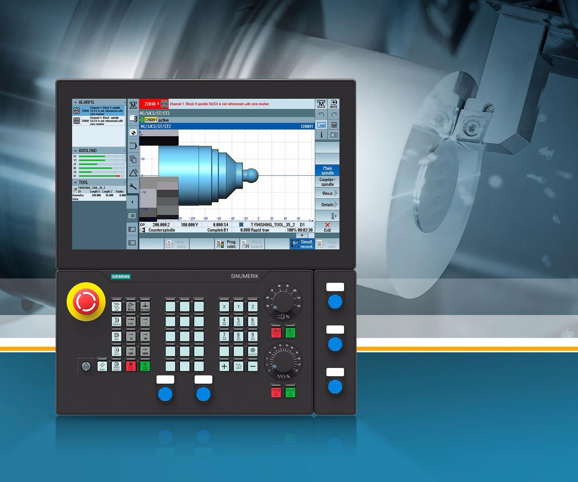 Siemens Sinumerik CNC