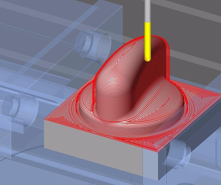professioneller Verkauf günstigster Preis neue hohe Qualität CAD/CAM Software Gets Improvements for Closed-Cavity Milling ...