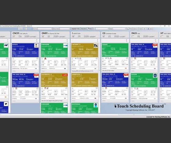 Henning Software Visual EstiTrack