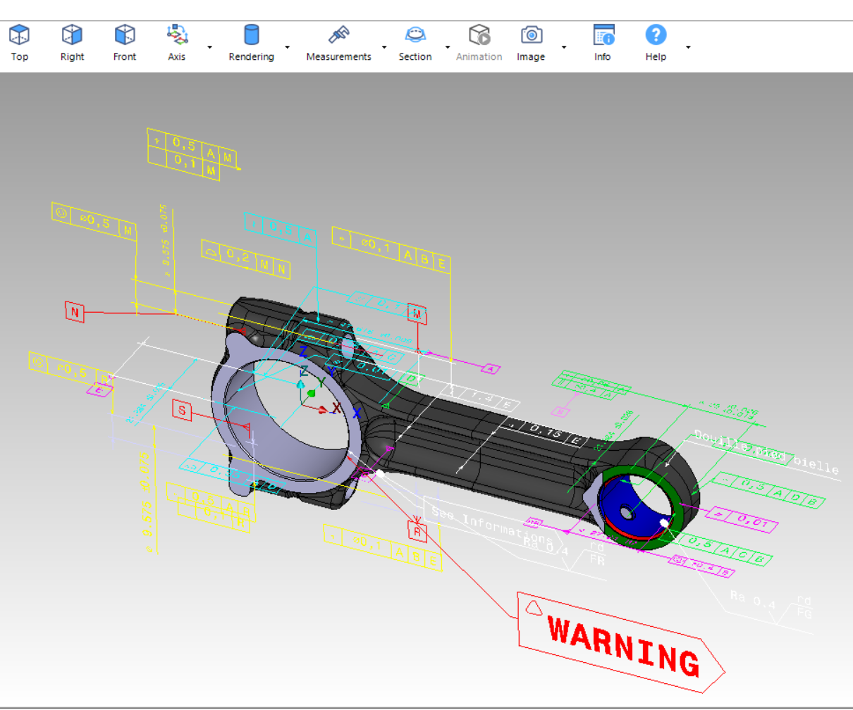 Vero Software's WorkXplore CAD viewer and analyzer