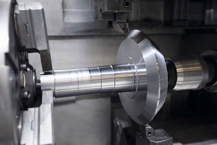 the V300 turns the cone end of the bevel gear