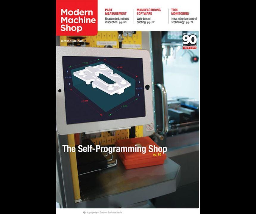 Modern Machine Shop March 2018 cover