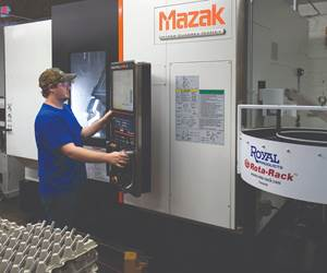 Machining Centers Help Shops Increase Output, Reduce Inspection Times