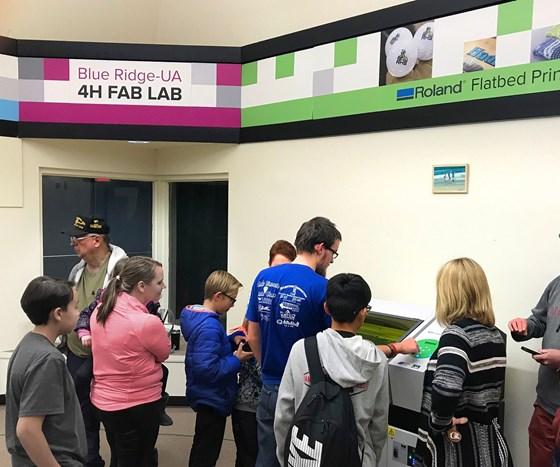 4-H Blue Ridge University of Arizona Fab Lab