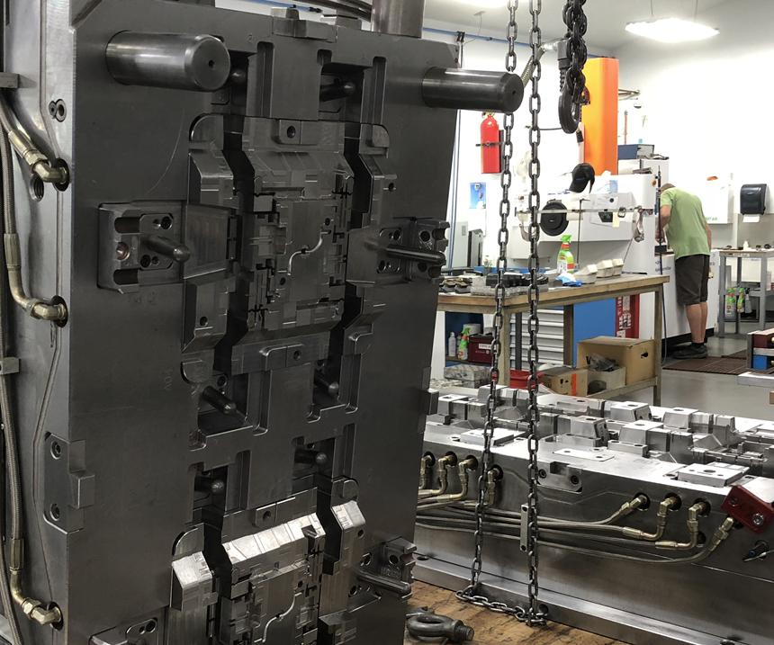 plastic injection mold Siemens' NX