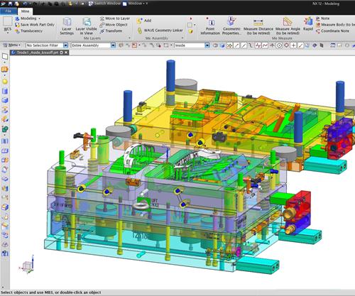 NX Mold Wizard CAD
