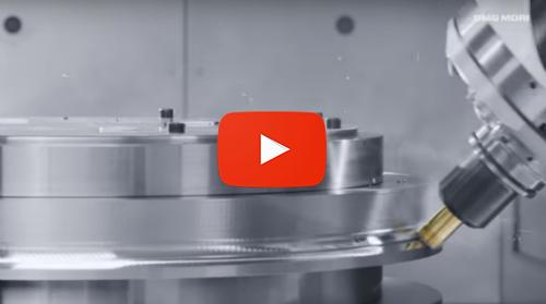 DMG MORI 5-axis machining at IMTS