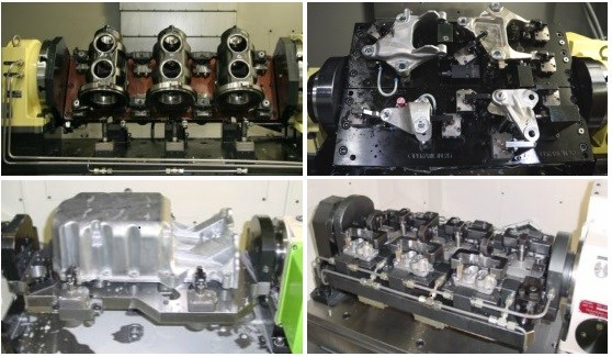 Indexers on vertical machining centers