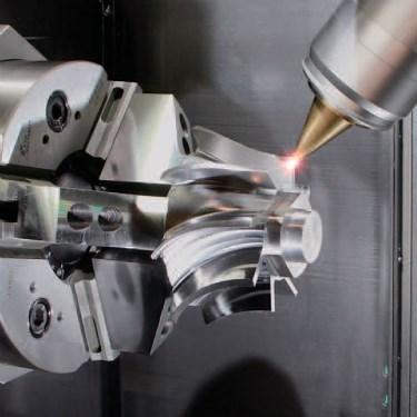 Mazak hybrid additive manufacturing