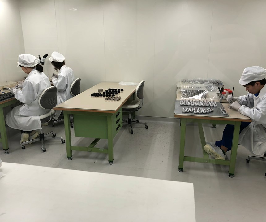 big daishowa assembly clean room