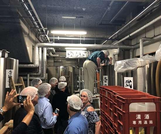 sake production