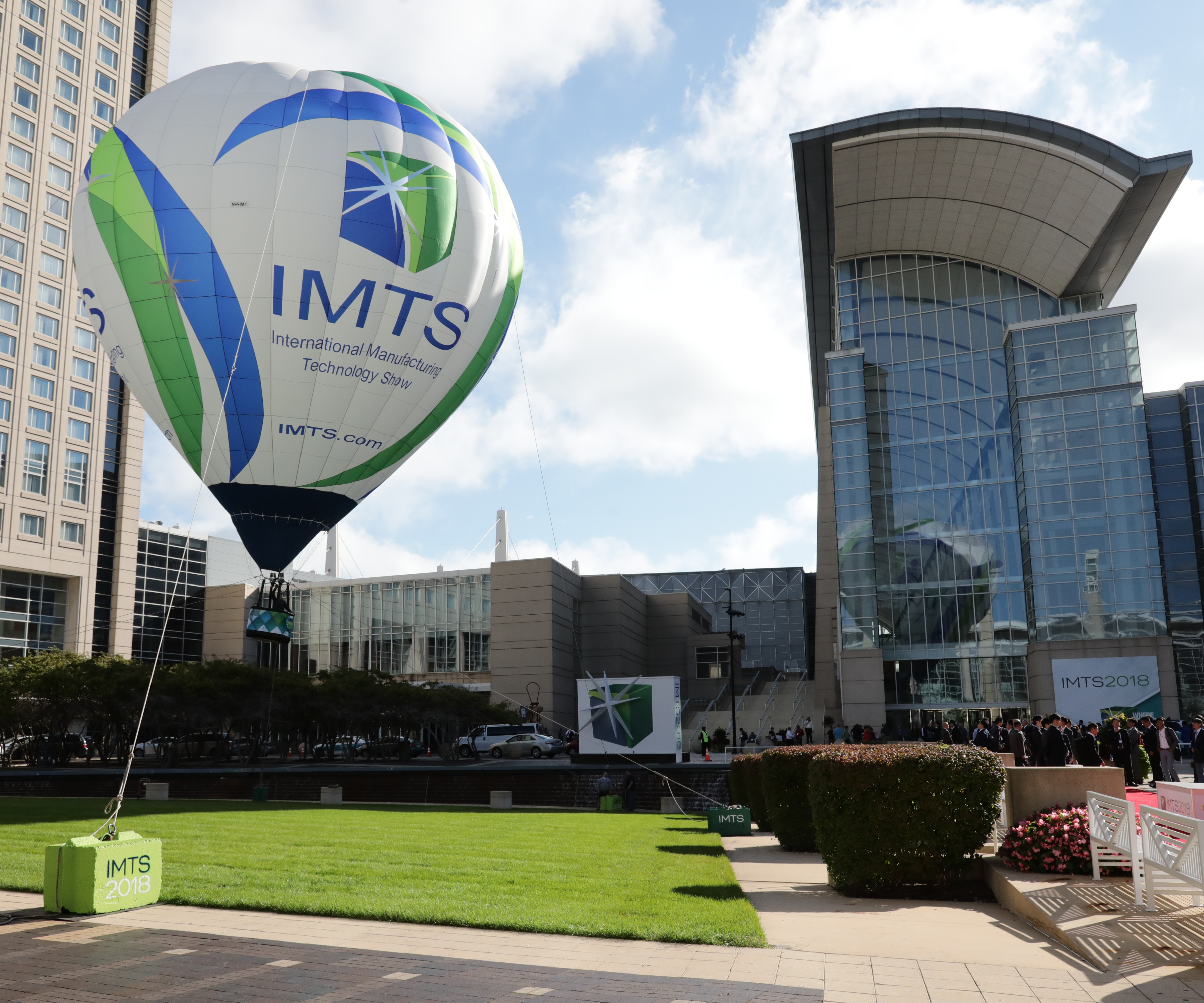 The IMTS 2018 Balloon