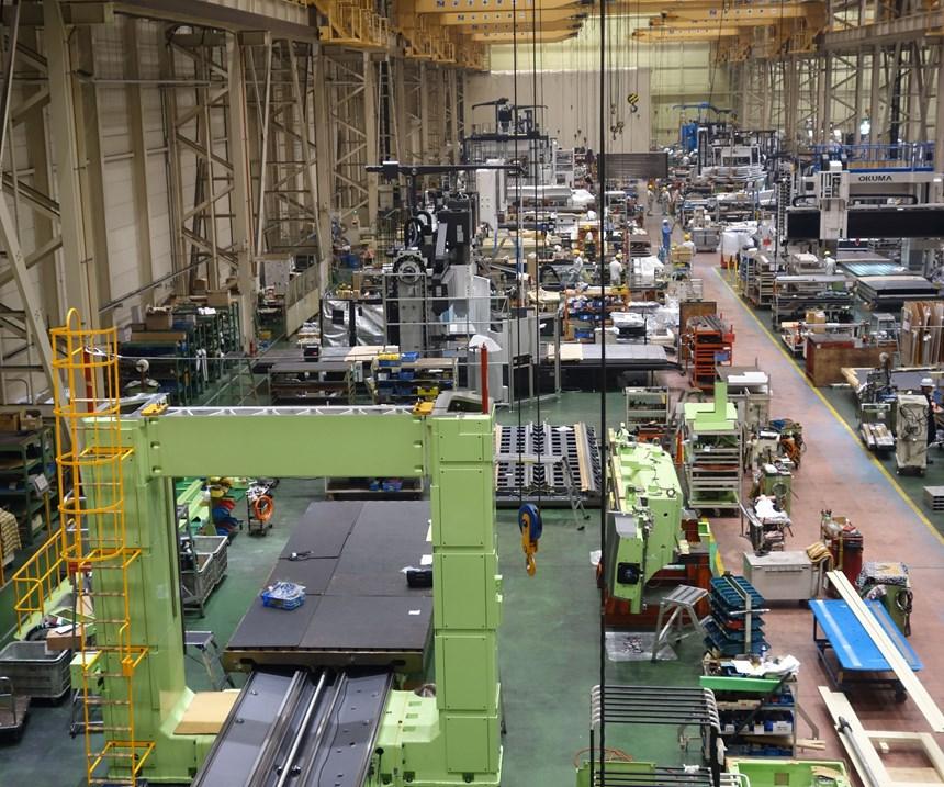 okuma production facility