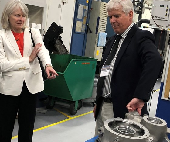 Aero Gear founder gives tour of facility