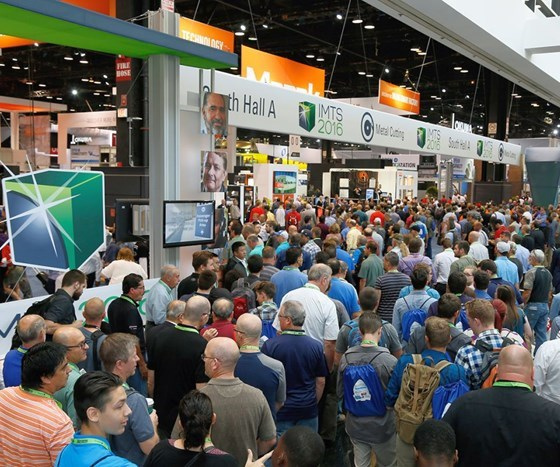 scene from IMTS 2016