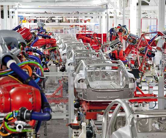 car company production factory