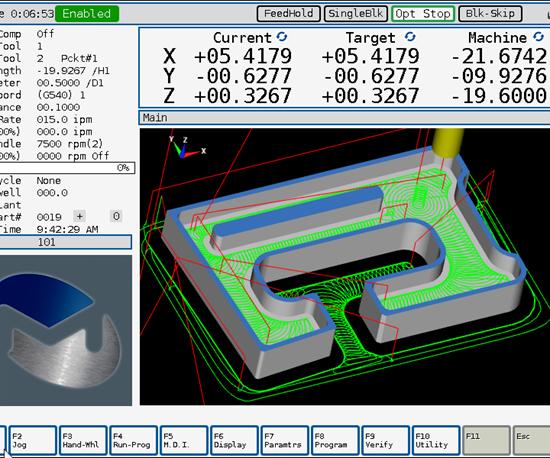 Milltronics ChipBoss machining software