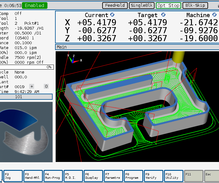 Milltronics ChipBoss machining software