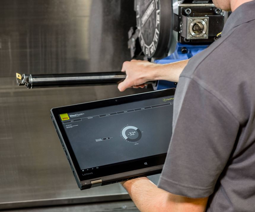 Designed for data-driven manufacturing, Sandvik Coromant's CoroPlus tools feature embedded sensors to serve as eyes and ears inside the machine tool's workzone.
