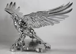machined eagle